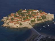Sveti Stefan, Montenegro - a chance de ser um hóspede de hotel em uma vila privada