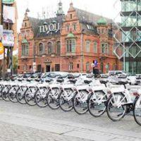 Bicicletas públicas de Copenhague têm tablets embutidos para auxiliar ciclista