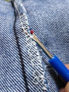unpicking ready to customise