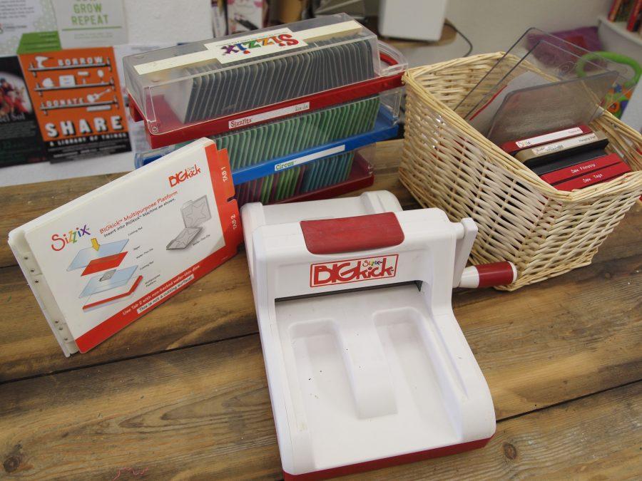 Stamp Cutting Machine