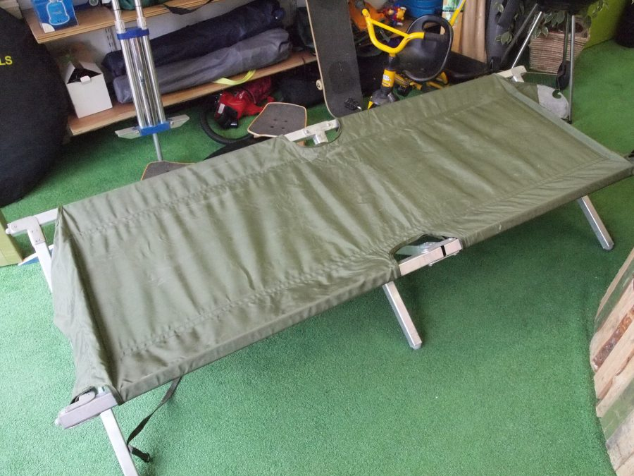 Sturdy Camp Bed