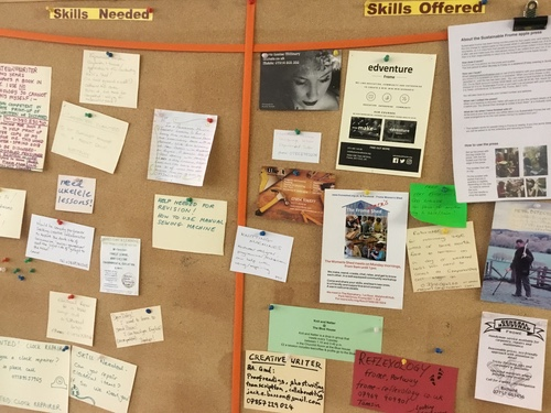 SHARE Frome Skill Swap Board