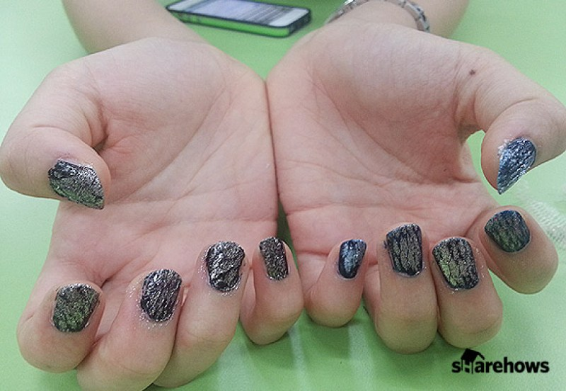 shower ball nail art 10