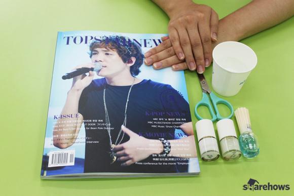 magazines nail art_1