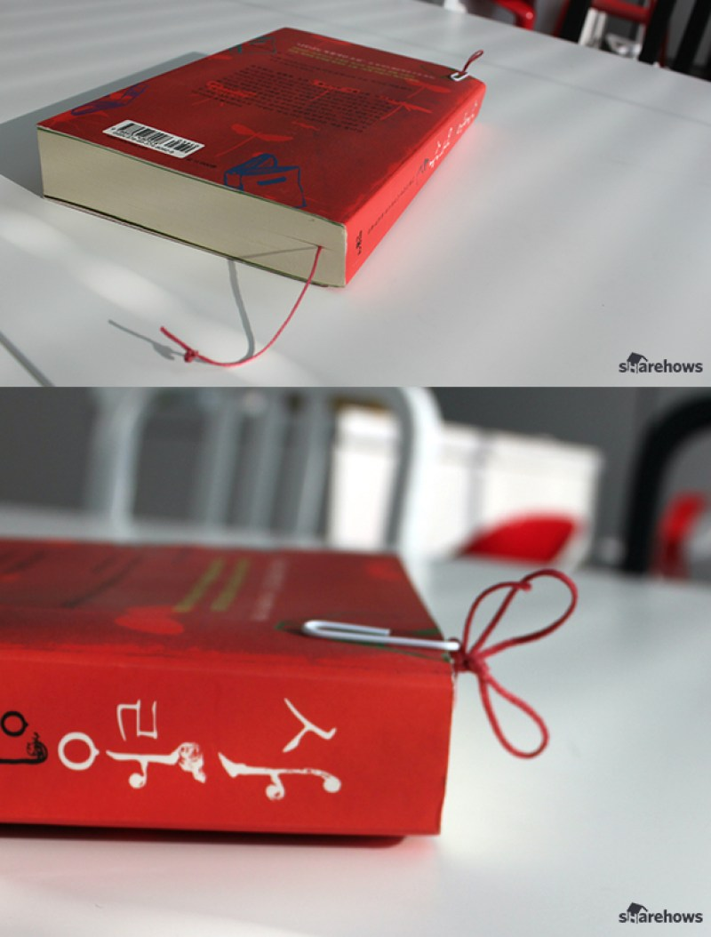How to make a simple bookmark 07
