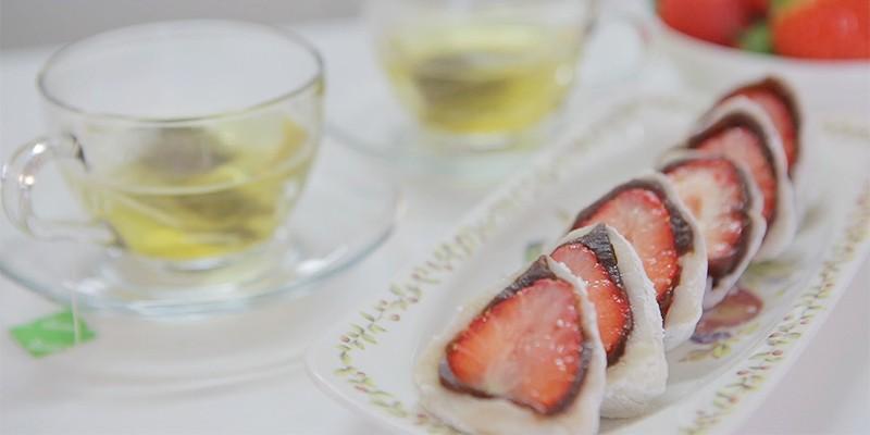 딸기 찹쌀떡 만드는 방법