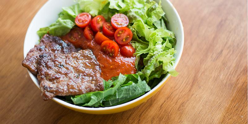 [원플레이트디쉬] 토마토 비빔국수 만들기