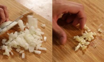 쉬운 손질법 1장 – 양파 & 마늘
