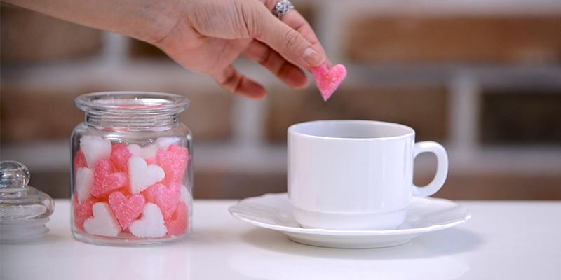 '하트 각설탕' 만드는 방법