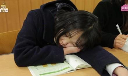 학창시절 수업시간에 자는 유형 5가지