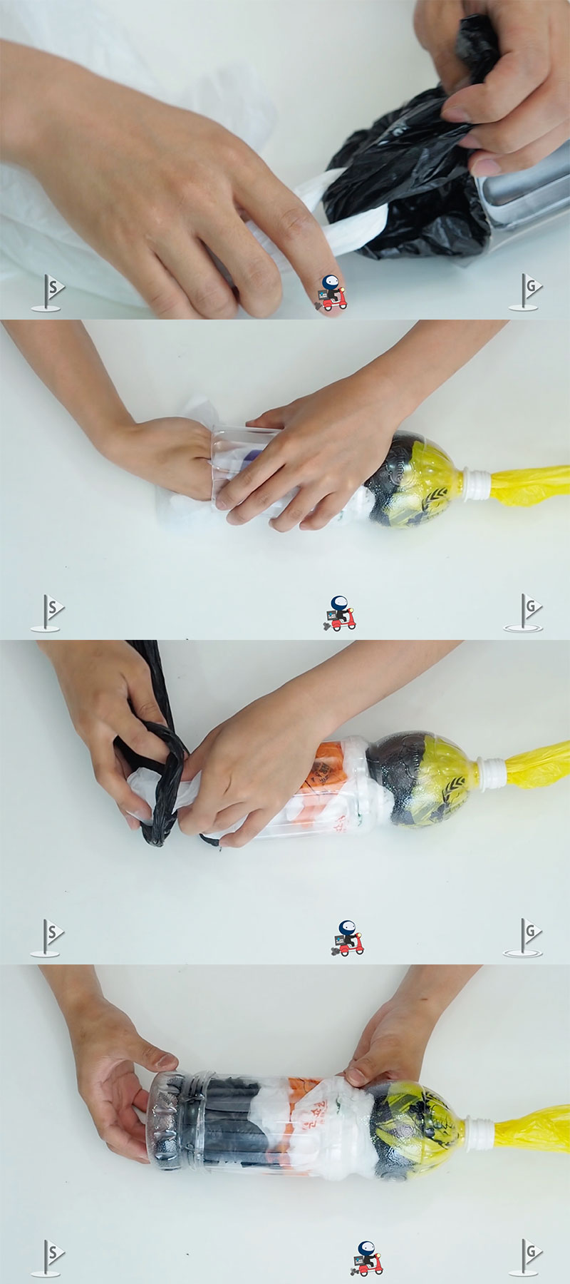 plastic bag life hacks 06