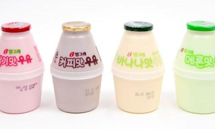 단지우유 컬러빙수 만들기