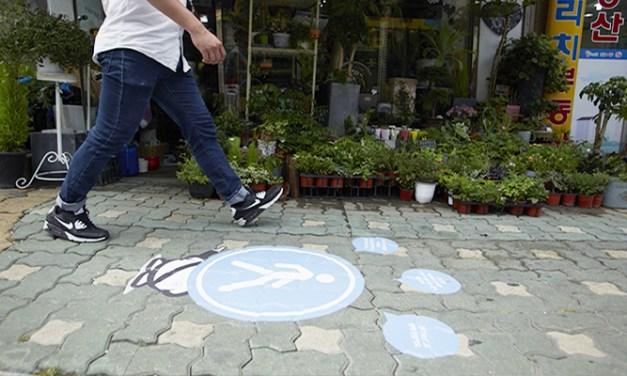 보행자를 위한 작은 실천, '걷기 좋은 거리 캠페인'
