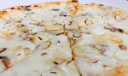 집에서 고르곤졸라 피자 만들기!