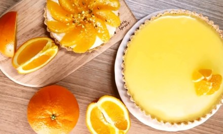 보기만 해도 상큼한 오렌지 타르트 만들기