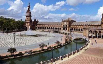 [나홀로 스페인여행 5] 스페인광장, 세비야대학, 황금의 탑