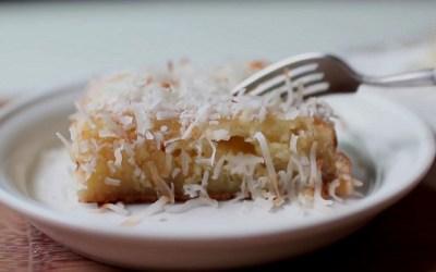 버터 없이 코코넛 브라우니 만들기!