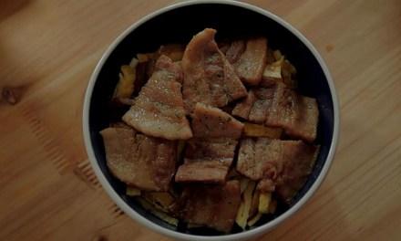 남은 삼겹살로 맛있는 차슈 덮밥 만들기!!!
