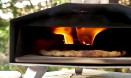 야외에서 피자를 만들어 먹자! 화력짱 휴대용 오븐