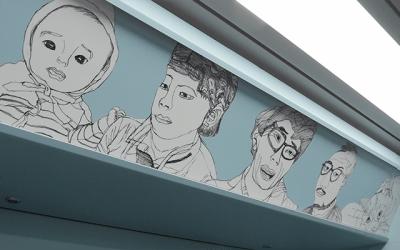 지하철을 타며 전시회를 관람할 수 있다? 예술과 교통의 만남, 우이신설선