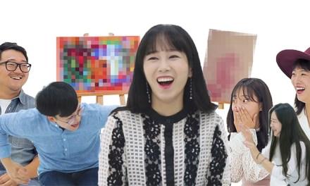 혜진이 그림에 90만원 쓴거 실화?! 교양 1도 없는 대처법 멤버들이 예술작품을 감상한다면?