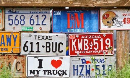 자동차 번호판의 숨겨진 의미는?