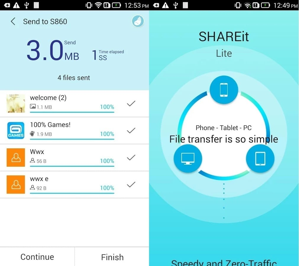 SHAREit Download for PC, APK, Android & iPhone Free