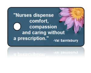 Nurse Appreciation Purple Daisy