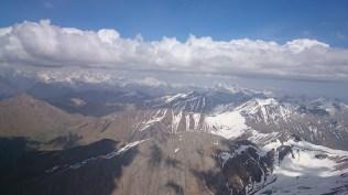 Looking east toward Roshka
