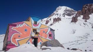 Bethlemi hut, aka meteo station Mt Kazbek