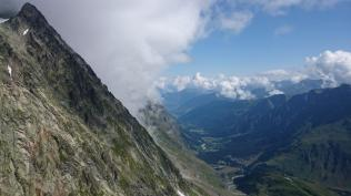 Looking down the other (Swiss) Val Ferret