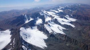 Glaciers south of Ala Archa