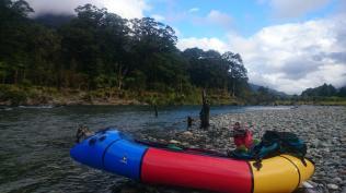 Routeburn Hollyford Pyke 4 day pack raft trip