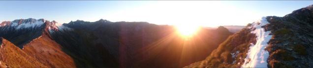 Sunrise at Dismal saddle