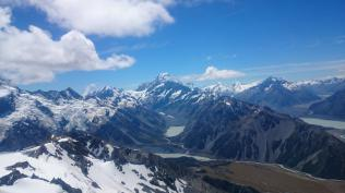 Mt Cook from Ben Ohau range