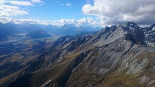 Glenorchy from around Mt Larkins