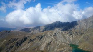 Early cloud Ben Ohau range