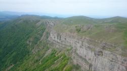 Ridge 10km to the south of Ledenika
