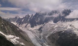 Climbed peak at head (Mt Dolent) after xalps