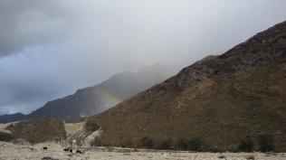 Showers in the Santa Cruz valley