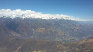 Crossing over from Cordillera Negra, 11:51am