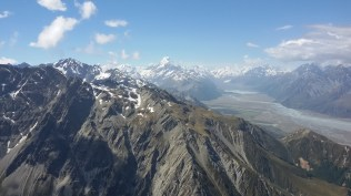 Mt Cook from the Ben Ohau range