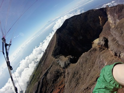 Rinjani and Agung crater