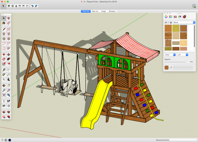 SketchUp - Build A Big Backyard Playset   Share My Lesson on Sketchup Backyard id=85096