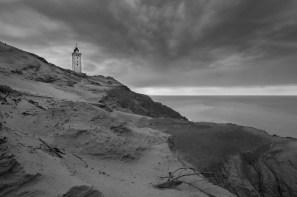 Leuchtturm an Dänemarks Küste