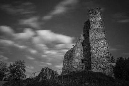 Burgruine im Sauerland