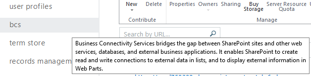 Performance issues with Business Connectivity Services Microsoft 365