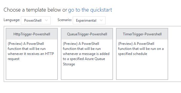 Office 365 - Azure - Running PnP PowerShell using Azure Functions 13