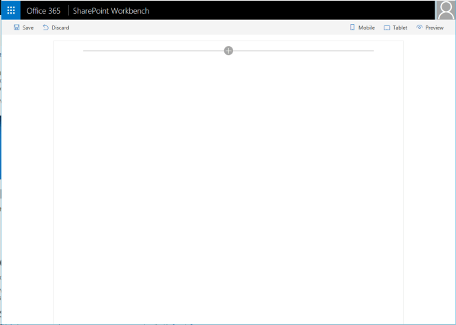 Office 365 - SharePoint - Create a Client Side Web Part using SPFx and CDN Microsoft Office 365, Microsoft SharePoint, SPFx or SharePoint Framework workbench
