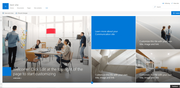 Office 365 - Communication sites are there Microsoft 365